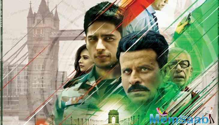 'Aiyaary' stars Sidharth Malhotra, Manoj Bajpayee in the lead roles along with Naseerudin Shah, Anupam Kher, Rakul Preet, Pooja Chopra in the supporting cast.