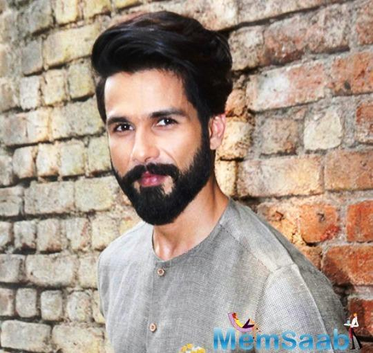 Shahid would require intense training, including losing at least eight to nine kilos.