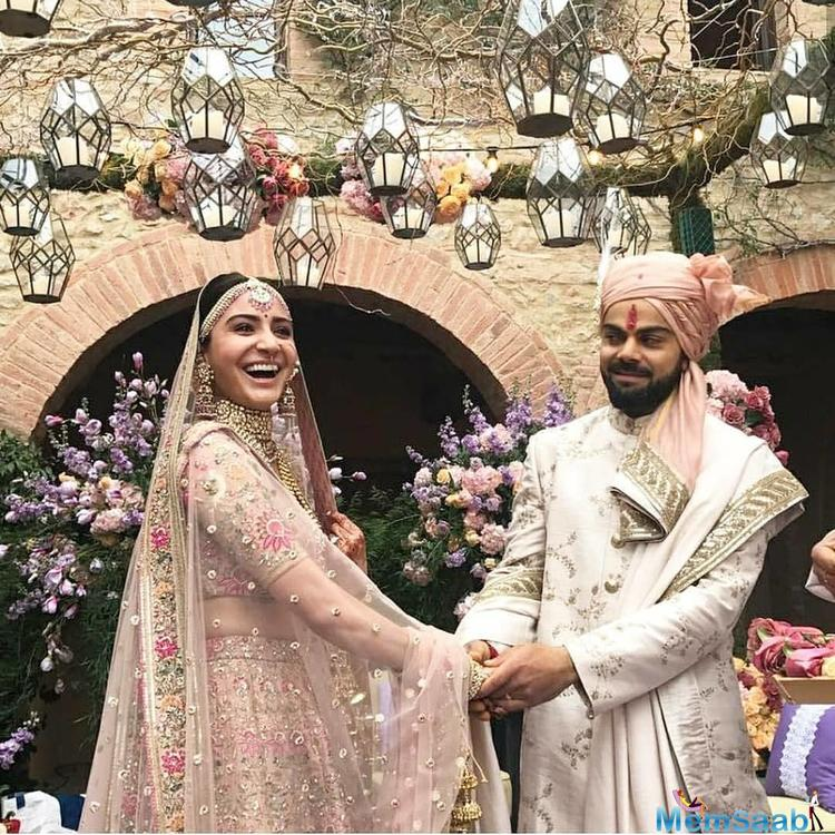 But after Virat tweet, everybody wish the newlywed couple, and now they are in India for the reception.