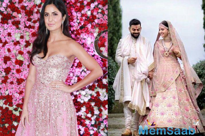 Katrina, who was also seen bonding with Anushka on 'Koffee With Karan' at the end of last year, was totally unaware about the Virushka wedding that took the internet by storm.