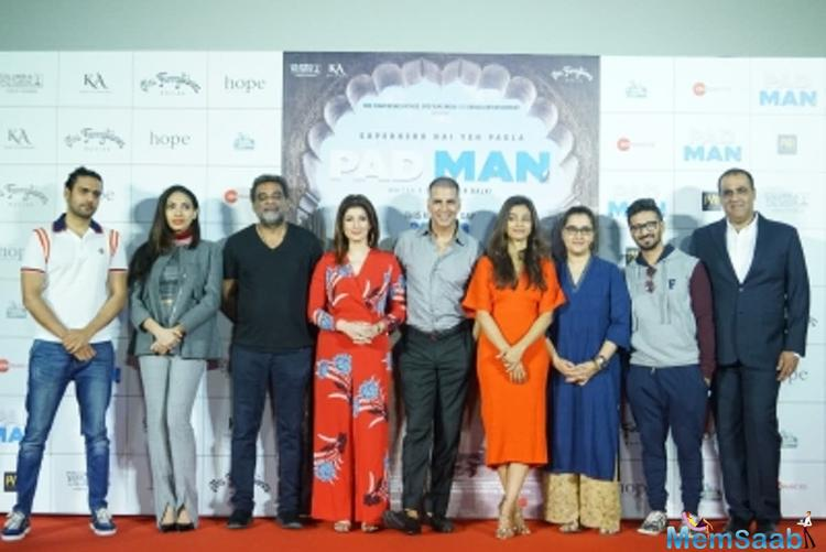 Actress-turned-author Twinkle said she didn't think there was anyone else apt to direct the film, which is based on a short story from her book