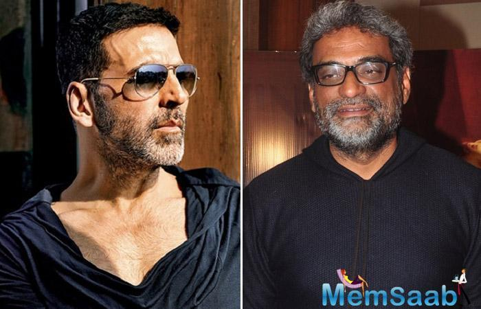 Director R. Balki, who is all excited for his upcoming film Padman, says Akshay Kumar is the right man for the film, asking if not for Akshay, why else would people watch the film?