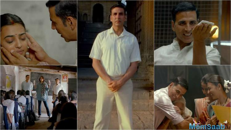 Actor Akshay Kumar today said with 'Padman', about a man who develops a low cost sanitary pads, they are trying to reach out to a wider audience without looking at the commercial aspects of the movie.