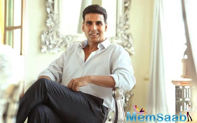 Akshay is happy that people, especially men, have today openly started talking about sanitary pads, and hoped that post the release of