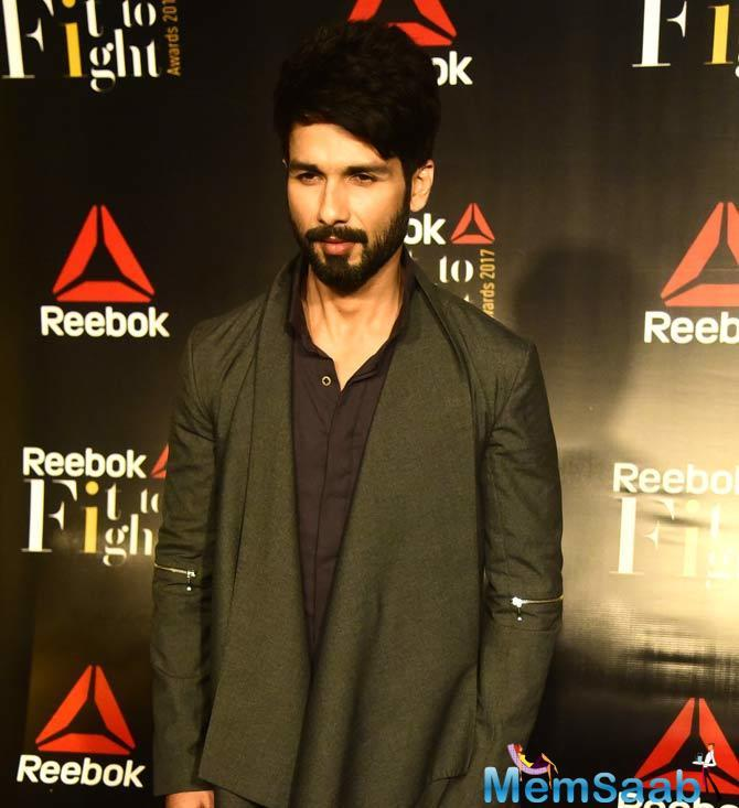 On the professional front, Shahid is awaiting the releasing of the controversy-laden film, 'Padmavati'.