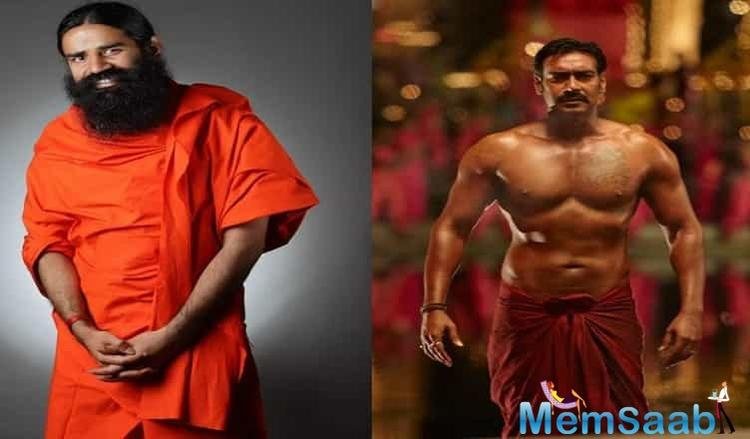 Not only Devgn, Baba Ramdev too is really happy with Kranti playing him on-screen.