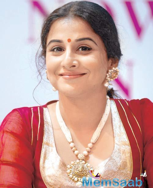 Notably, this step also opens up a fresh chapter in the actress' career as it indicates that Vidya might be taking up her own production venture.