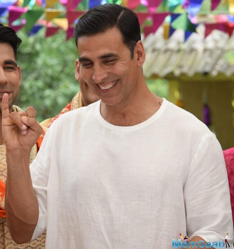 Talking about how it's spoken about in villages, Akki reveals, It's ridiculous that women are treated as untouchables.
