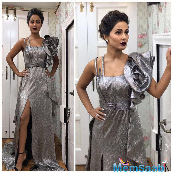 Hina Khan is among the small screen's most beautiful actresses