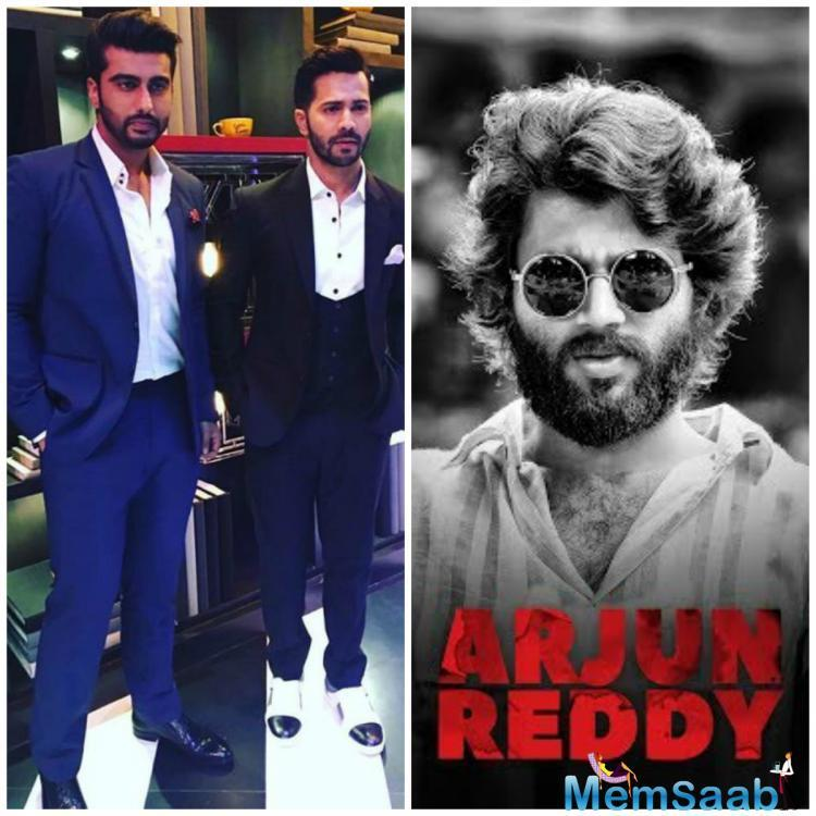 Later on, many speculations about other Bollywood actors, it seems like Arjun Kapoor is finally on-board for the Hindi remake of Sandeep Vanga's Telugu film 'Arjun Reddy'.