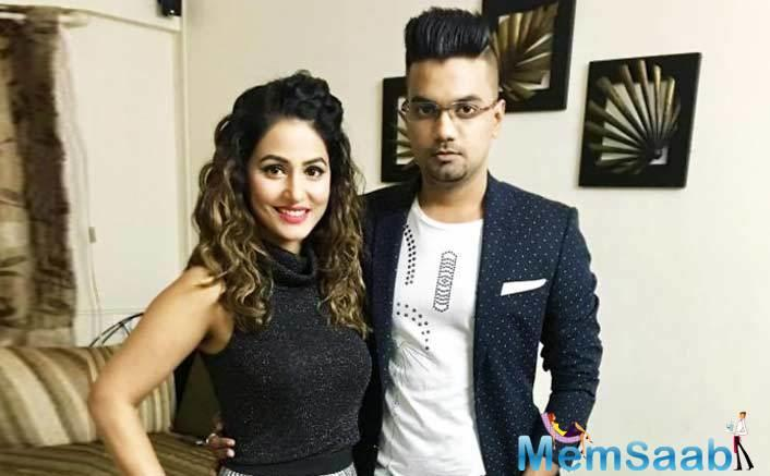 While in the Bigg Boss 11 house, Hina's relationship with Jaiswal became a talked about the affair.