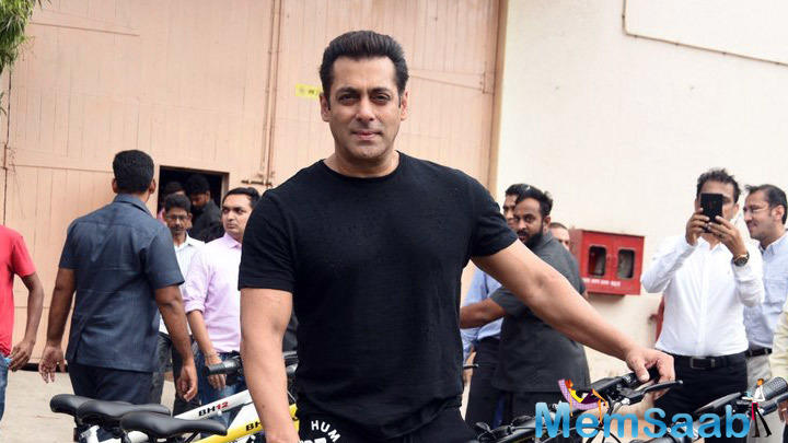 Salman Khan has his kitty full, once he finishes 'Race 3', he will begin turning on his next 'Bharat'.