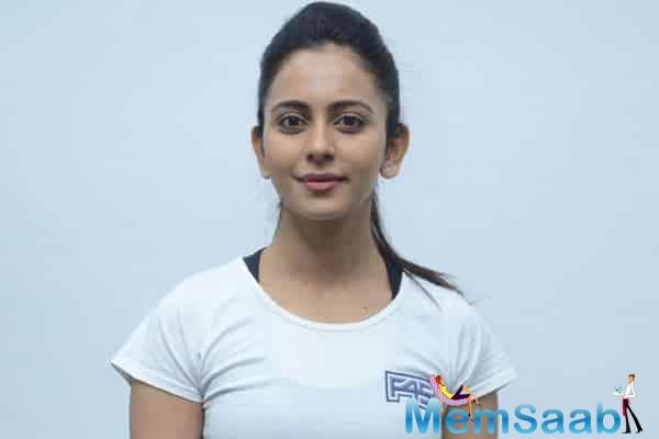 "Writer and Producer Ranjan says ""When we met Rakul, her energy from the minute go was just wonderful. It didn't take us too long to bring her on board for the film because her natural persona fit the character brief to the tee""."