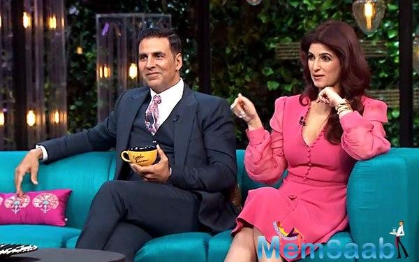 """And with a laugh, Sonam reveals a little secret, """"Akshay Tina se bohot darte hain (Akshay is scared of Tina)!"""""""