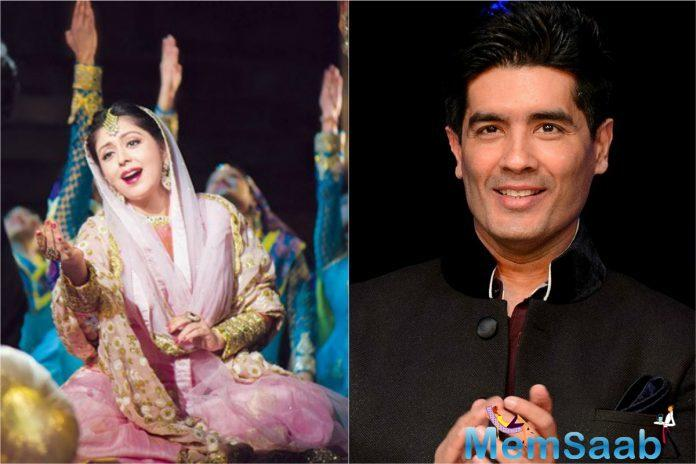 Fashion designer Manish Malhotra has bagged the Best Original Costume Design Award for Mughal-e-Azam: The Musical at the Broadway World India Awards.