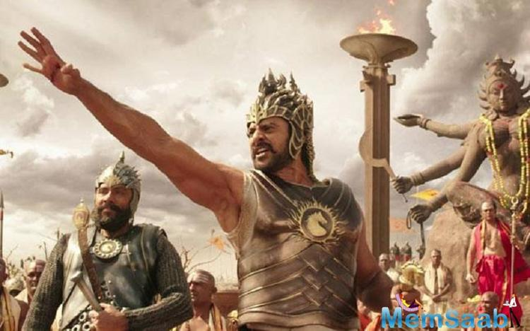 The official account of 'Baahubali' too shared the news with their fans on Twitter.