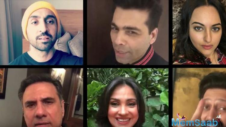 Earlier in the day, the 'Ae Dil Hai Mushkil' director made the film's announcement by sharing a hilarious conversation between the cast.