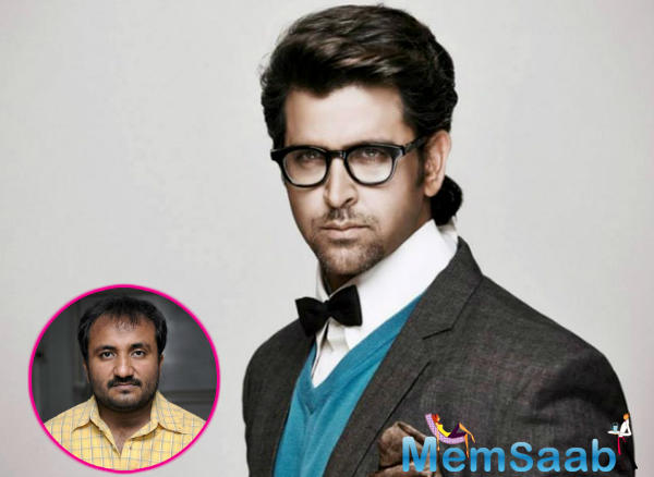 So now, Hrithik will shoot with Bahl and television actress Mrunal Thakur, who plays his wife, in Varanasi.