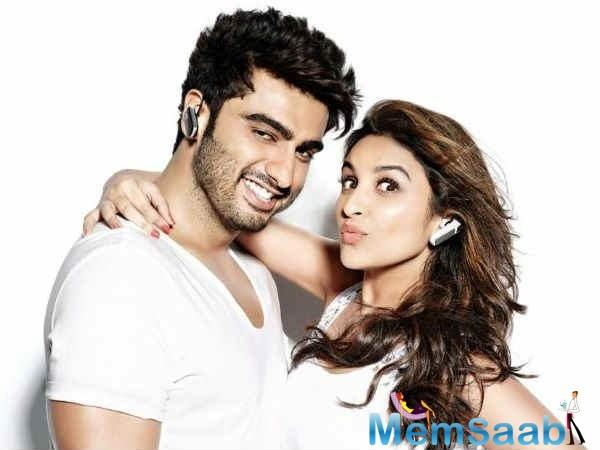 Parineeti Chopra is as excited about reuniting with her Ishaqzaade (2012) co-star Arjun Kapoor as fans of the duo are.