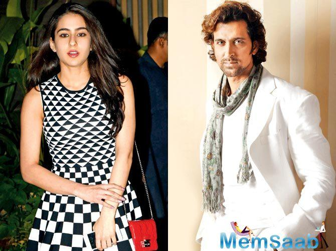 As per a report, Hrithik Roshan, who is excited about his next ambitious film 'Super 30', is keen on getting Sara on board to play female lead in the film.
