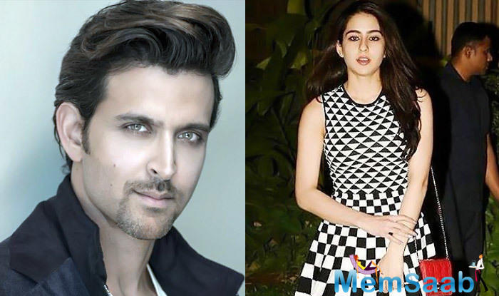 While cinephiles had pointed out that the pairing would be uncanny, given the age difference, Roshan had said,