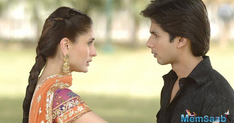Shahid and Kareena also worked together in Udta Punjab, however, they had no scenes together.