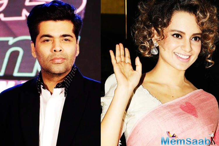 There was another such victory over negativity for former foes Kangana Ranaut and Karan Johar at the beginning of the yr.