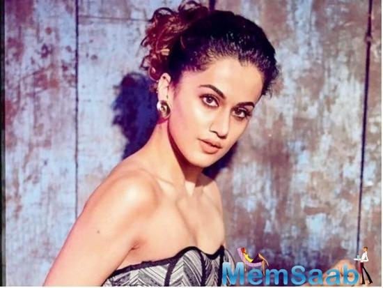 Talking about Bollywood's quest on exposing Harvey Weinsteins at home, Taapsee said things will fall in place if