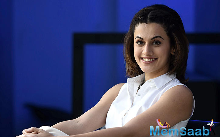 After kicking some ass with her spy act in 'Naam Shabana' and showcasing her glam avatar in 'Judwaa 2', Taapsee Pannu will soon be seen in the romcom 'Dil Juunglee'.