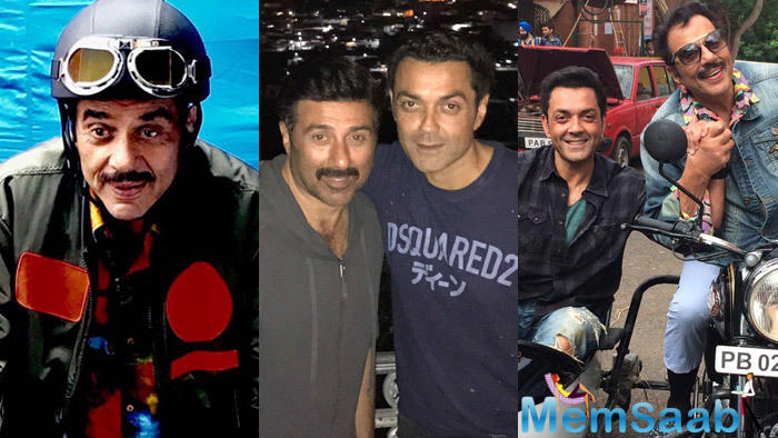 The film also features Sunny Deol, Bobby Deol and Kriti Kharbanda.