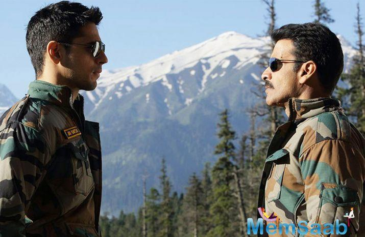 Aiyaary' revolves around two officers in uniform, played by Sidharth Malhotra and Manoj Bajpayee, who were once each other's support and now cannot come to terms with one another.