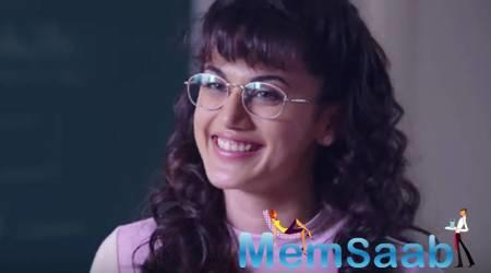 So, after making an impression with her perfect comic timing in 'Judwaa 2', Taapsee is now all set to win hearts again with her brand-new geeky avatar in her upcoming film 'Dil Juunglee'.