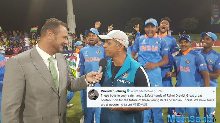 Had he not been dismissed by Andy Bichel, the Men in Blue would have had some hope of winning their second World Cup trophy.