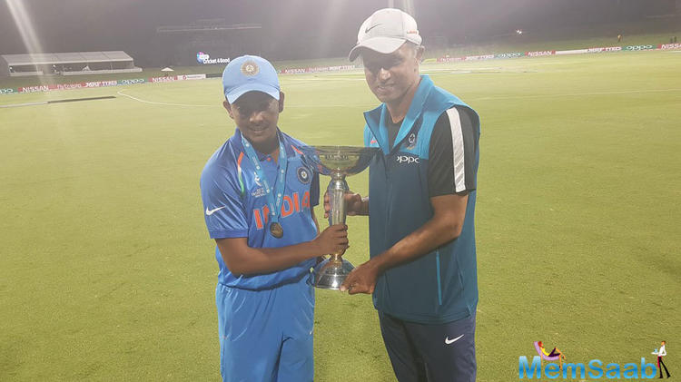 This time, it was Prithvi Shaw and his men's turn, as they began and ended the tournament with a win over Australia, thereby clinching their fourth title.