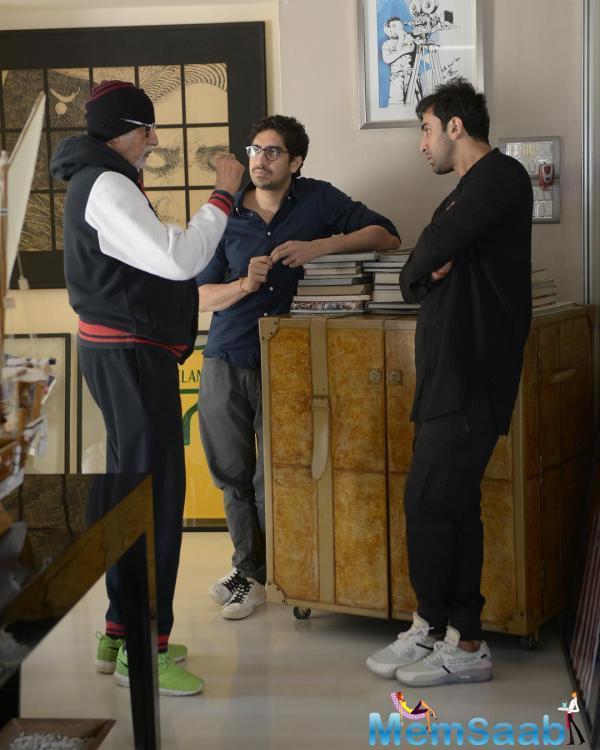 Filmmaker Ayan Mukerji of 'Yeh Jawaani Hai Deewani' fame has begun work on his next 'Brahmastra' along with Alia Bhatt, Ranbir Kapoor and Amitabh Bachchan.