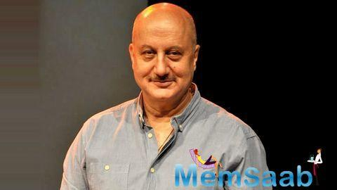 Veteran actor Anupam Kher today said his Twitter account has been hacked.