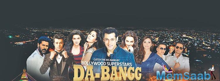 The event will see Bollywood stars Sonakshi Sinha, Kriti Sanon, Prabhudheva, Daisy Shah, Meet Bros and Manish Paul joining Salman on March 10 at Tundikhel, Kathmandu.