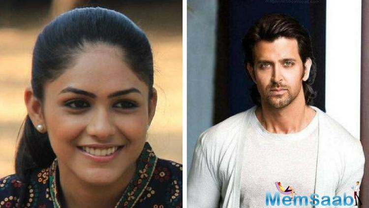 The film Super 30 is in news these days. Recently, the first look of Hrithik Roshan from the film was making rounds on social media and now actress Mrunal Thakur is making headlines.