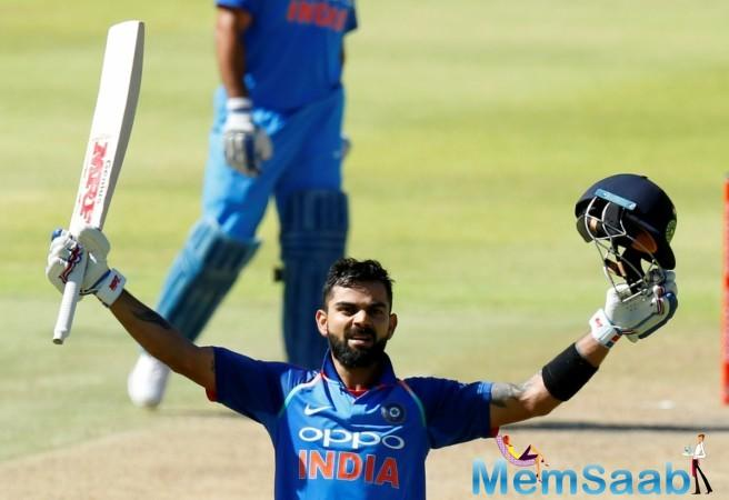 Virat Kohli is scoring runs for fun against helpless South Africa team. The team India skipper have smashed bowlers all around the park as his appetite for runs keeps on increasing day by day.