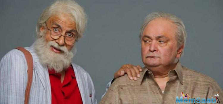 The wait is over, after 27 years Amitabh Bachchan and Rishi Kapoor are back together in  '102 Not Out'.