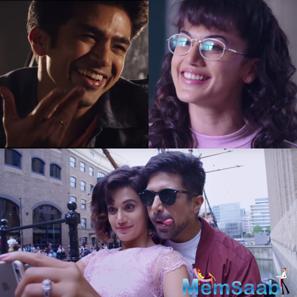 Dil Juunglee is a romantic comedy film written and directed by Aleya Sen. It stars Tapsee Pannu, Saqib Saleem, Abhilash Thapliyal, Nidhi Singh and Srishti Shrivastava.