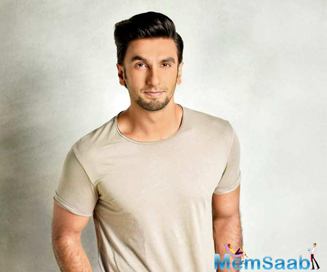 Actor Ranveer Singh, who will play the role of star cricketer Kapil Dev in