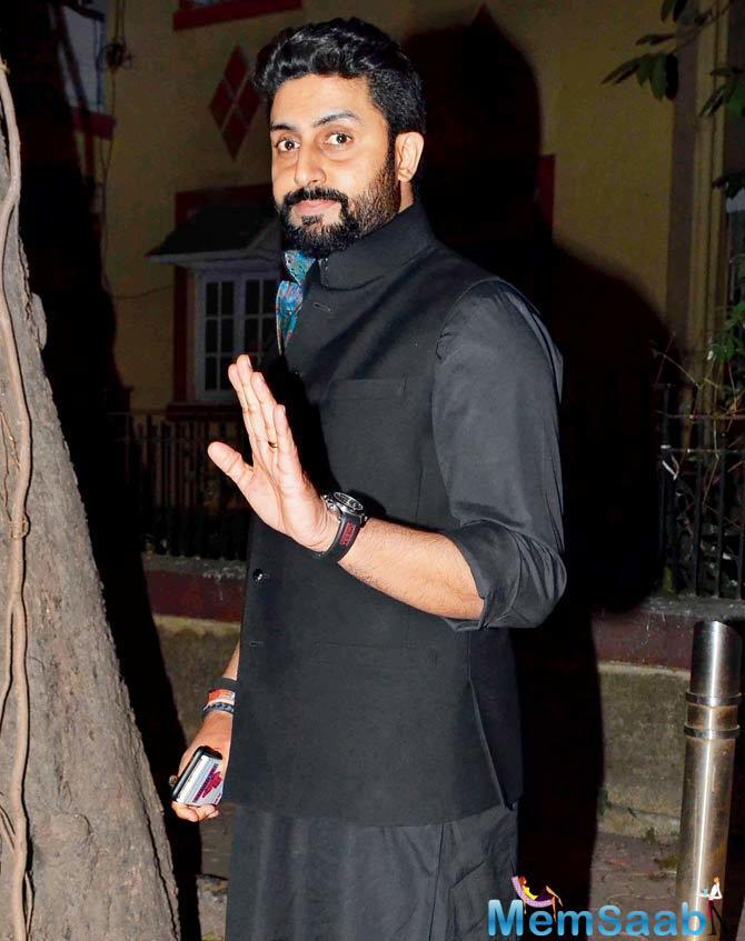 There has been talk about Abhishek Bachchan sporting a new look in Anurag Kashyap's Manmarziyan.