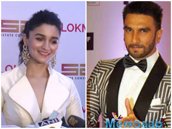 After unveiling the first poster from Ranveer Singh and Alia Bhatt's upcoming Zoya Akhtar film, 'Gully Boy', both the actors are bonding big time over fitness.