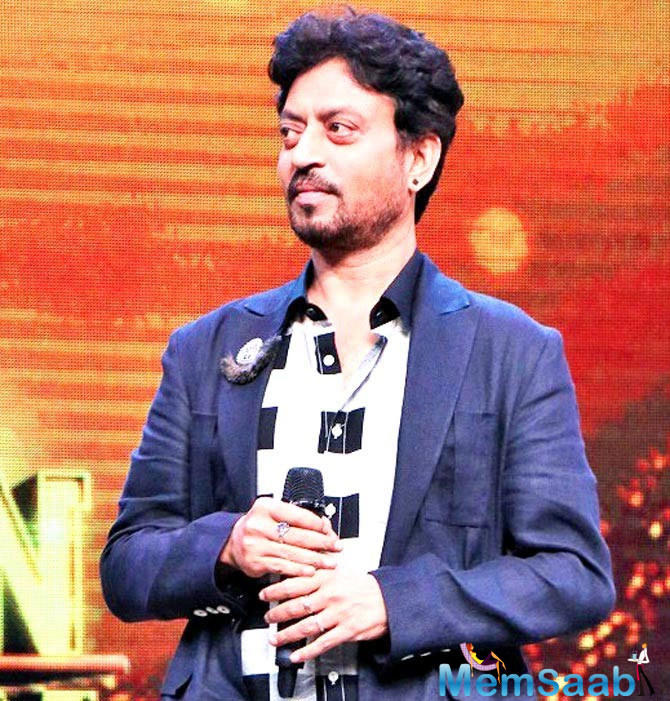 Actor Irrfan Khan says his wife Sutapa Sikdar, who also produced his movie