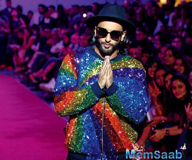 'Gully Boy' stars Ranveer Singh and Alia Bhatt, wherein the former plays a rapper.