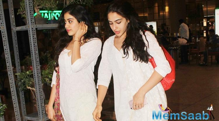 On the other hand, Janhvi Kapoor is having the time of her life shooting for 'Dhadak', a remake of the Marathi blockbuster 'Sairat', also produced by Karan Johar.