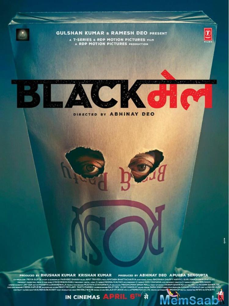 'Blackmail' is slated to release on April 6.