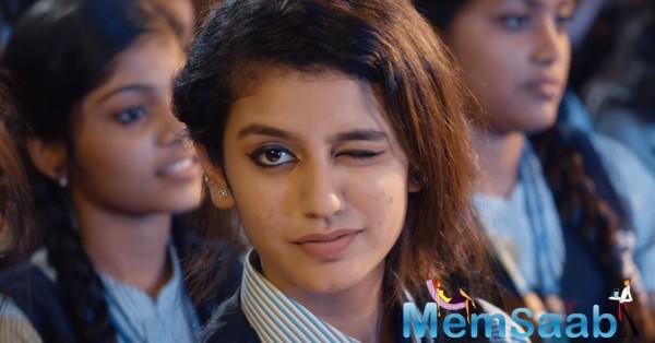 Young Malayalam actress, Priya Prakash Varrier, who recently attained huge fame for her acting skills in the song 'Manikya malaraya poovi' from her upcoming movie Oru Adaar Love.