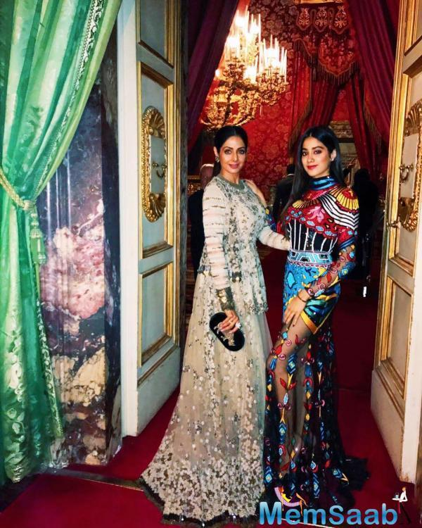 Sridevi was known as much for her graceful dance moves as for her acting chops. And looks like it holds just as true with her daughter Janhvi Kapoor.